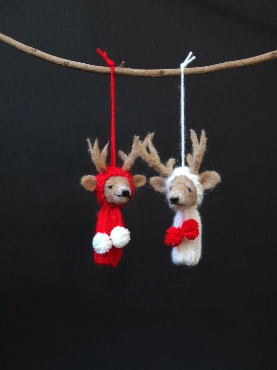 783 best needle felting images on pinterest needle felting felted felted reindeer christmas diymerry christmaschristmas ornamentsreindeer solutioingenieria Choice Image