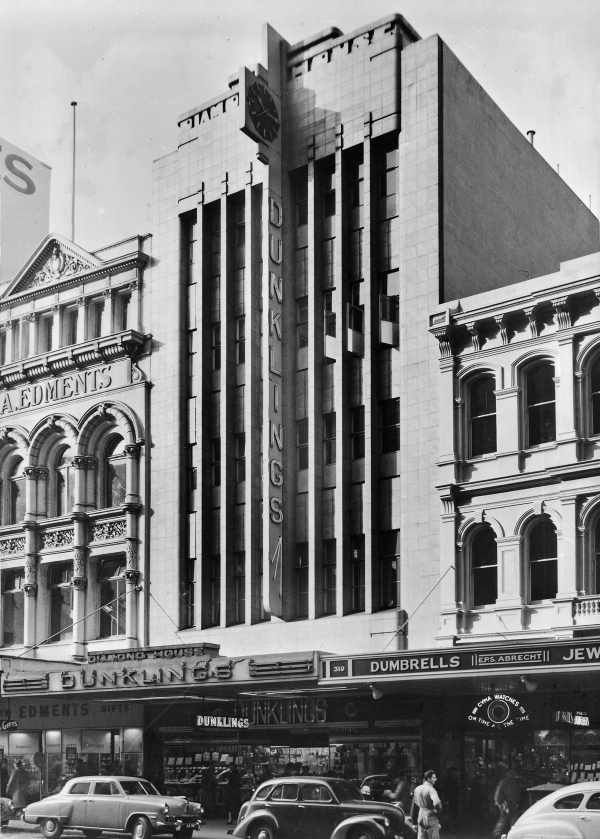 Dunklings Jewellers, Melbourne, 1936