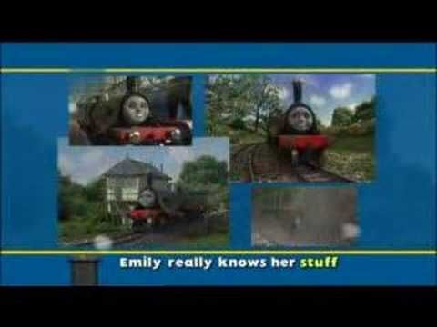 Thomas and Friends Song with the lyrics