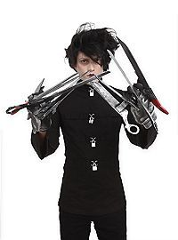HOTTOPIC.COM - Edward Scissorhands Deluxe Gloves