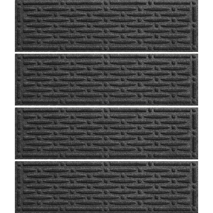 Best Aqua Shield Charcoal 8 5 In X 30 In Mesh Stair Tread 400 x 300