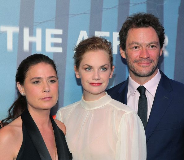 Maura Tierney Photos Photos - (L-R) Maura Tierney, Ruth Wilson and Dominic West attend 'The Affair' New York series premiere on October 6, 2014 in New York City. - 'The Affair' Premieres in NYC