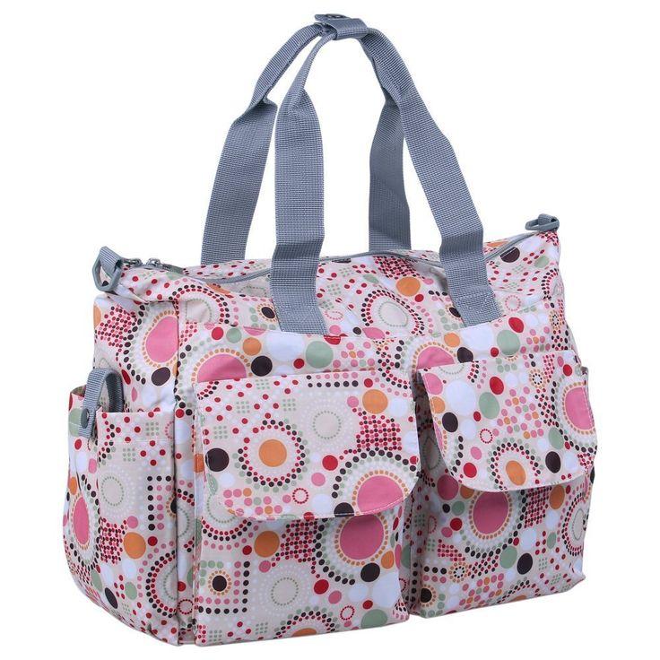 Hynes Eagle Summer Satchel Diaper Tote Bags (Pink)
