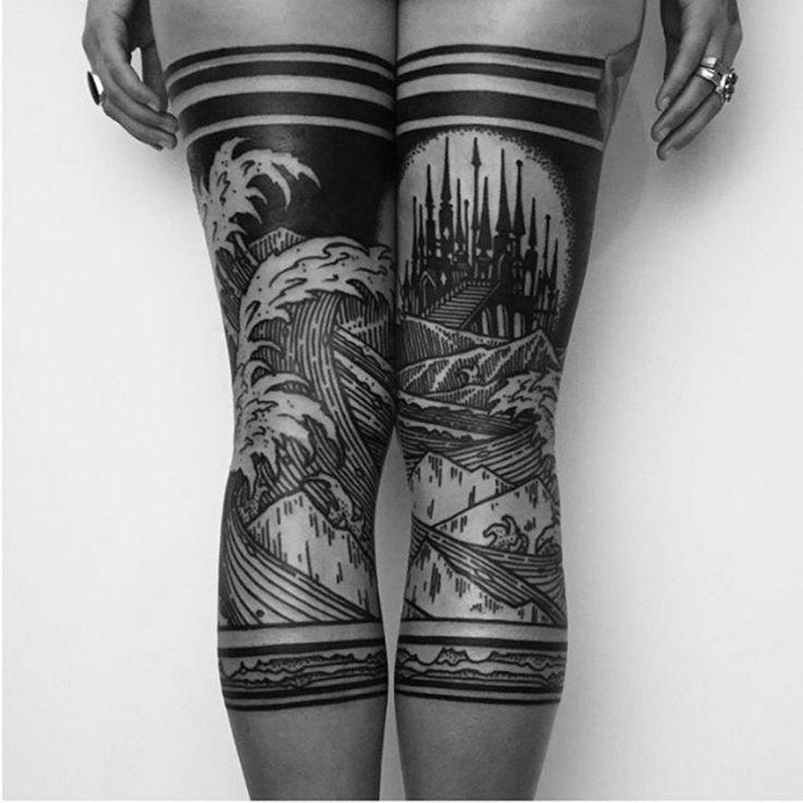 27 Leg Sleeve Tattoo Designs Ideas: Best 25+ Leg Tattoos Ideas On Pinterest