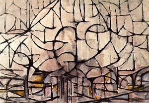 Flowering Trees - (Piet Mondrian)