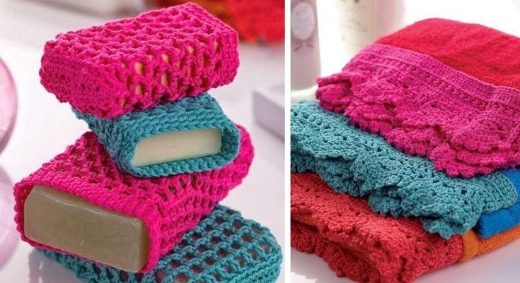 Crochet Body Scrubber (Free Patterns)