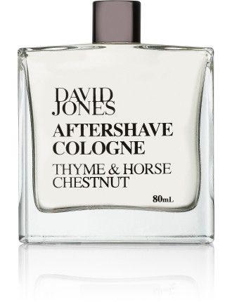 David Jones Aftershave Cologne - Thyme & Horse Chestnut #davidjones #beauty #scent #fragrance #perfume #shop #cologne