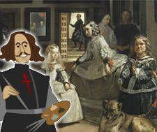 Maravillosa informacion del Museo del Prado para explicar La familia de Felipe IV, o Las Meninas, Velázquez