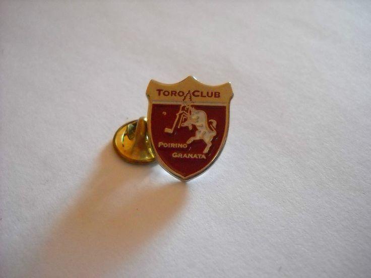 a8 TORINO FC club calcio football soccer spilla pins badge broche italia italy