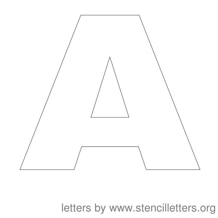 Free Large Printable Letter Stencils Letter Stencils Printables Free Printable Letter Stencils Large Letter Stencils