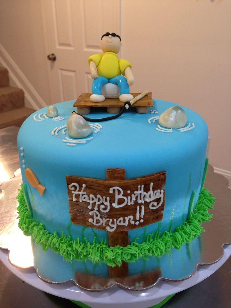 Birthday Girls Fish Cake Ideas