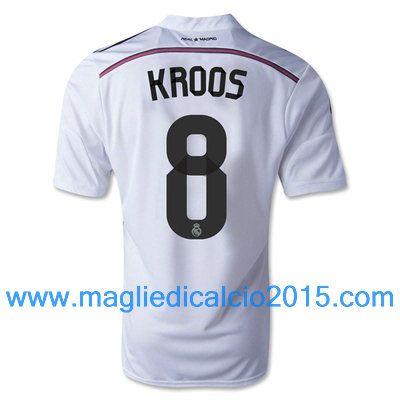 Real Madrid magliette da calcio 2014/2015 Kroos 8-Local