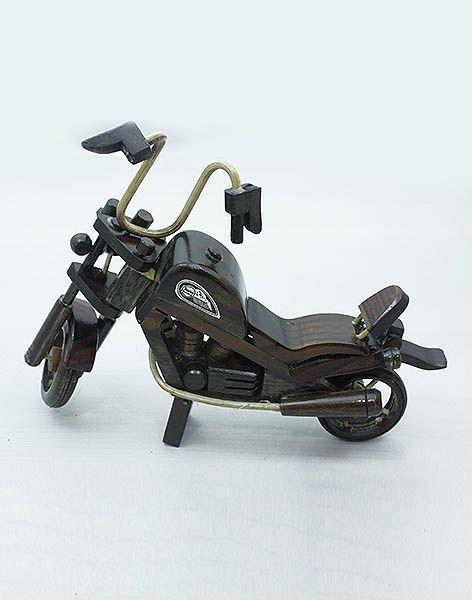 Ahşap Motosiklet Biblo ,