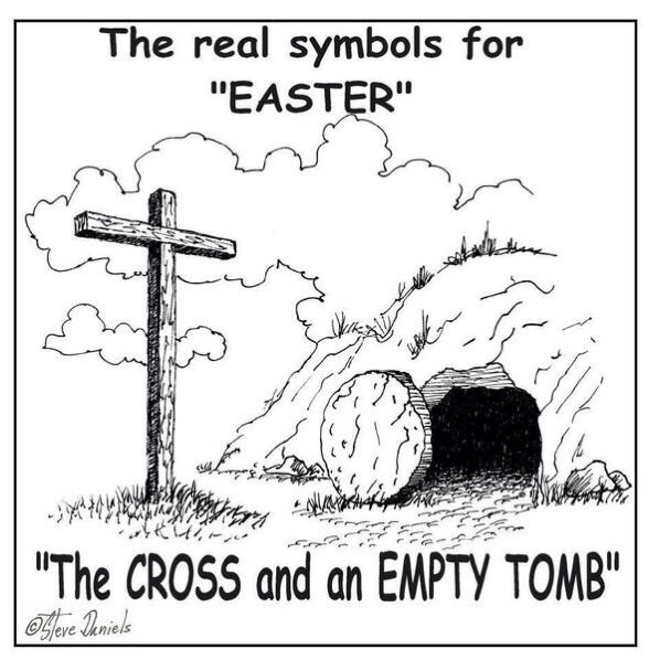 The real symbols of #Easter... #HolyWeek #Faith