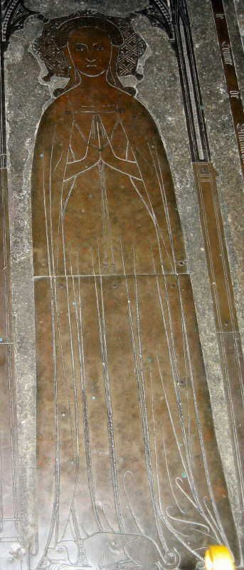 Margaret Courtenay 1326–1385 BIRTH 1326 • Exeter, Devon, England DEATH 1385 AUG 02 • Cobham, Kent, England 21st great-grandmother. Burial: Unknown (Eddy Family) Husband: John Cobham '3rd Lord'