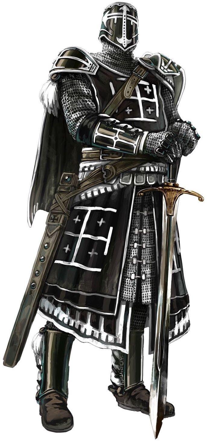 Knight Black Armor Knight Armor Knight