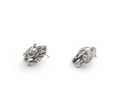 Rhino Earrings | Captve Jewellery