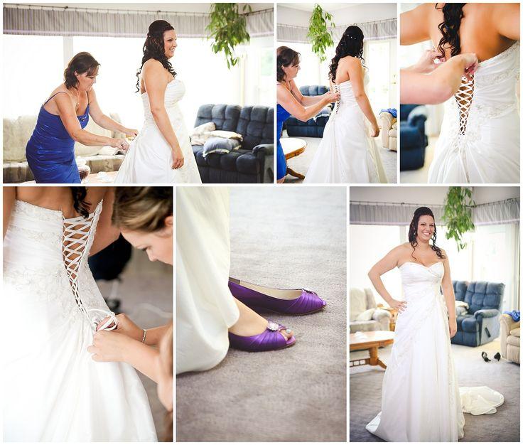 Abbotsford Wedding Photographer - Pop of Purple