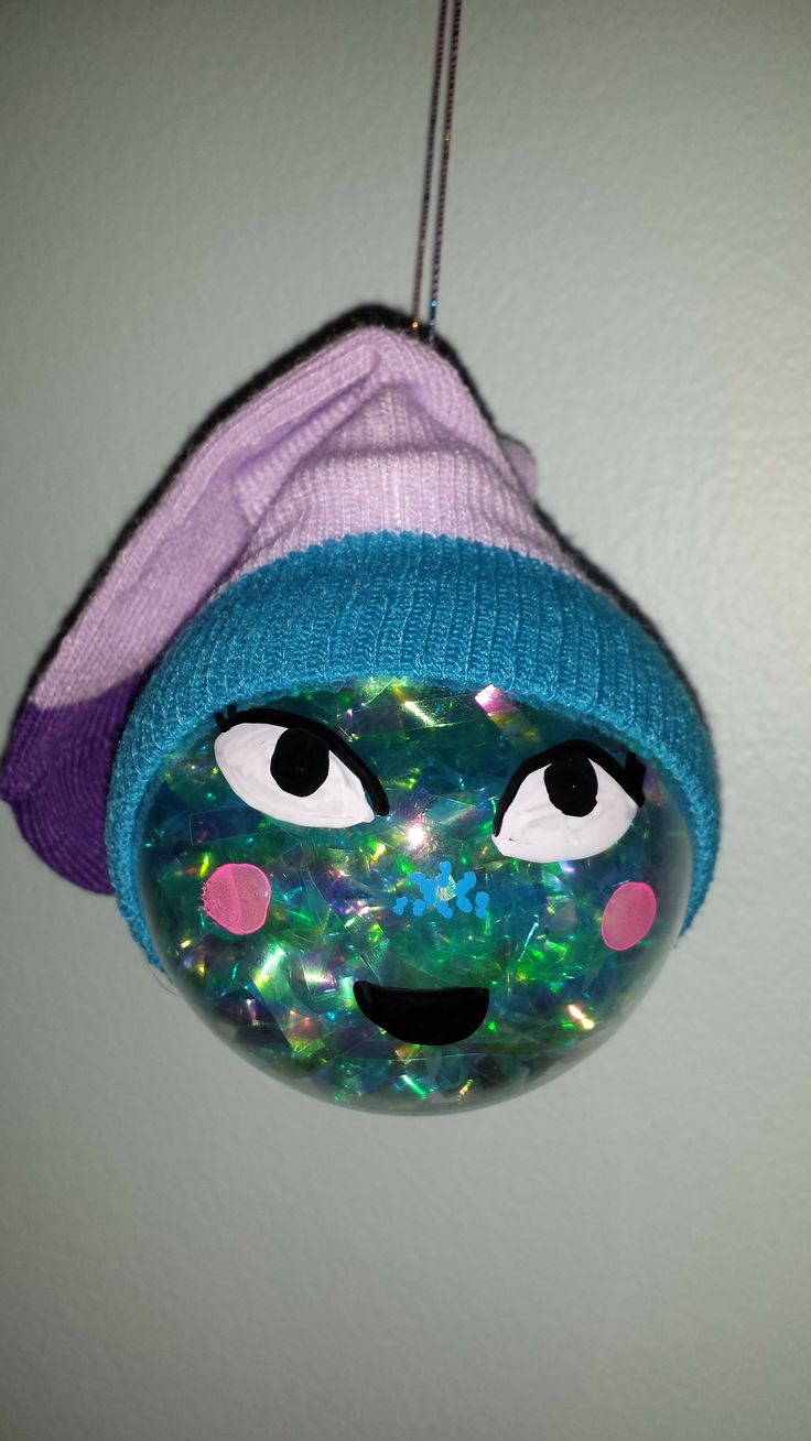 girl scout craft ideas for brownies brownie ornament clear ornament with aqua fill baby 7744