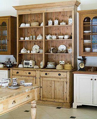 Midday Muse: Freestanding Kitchen Cabinets