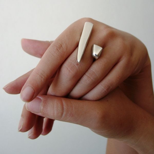 CLAUDIA MARTINO DESIGN silver ring