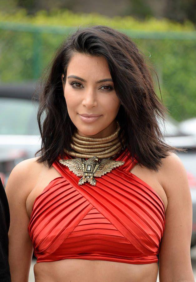 Kim Kardashian, les cheveux courts