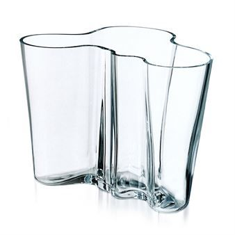 Alvar Aalto vase klar - 160 mm - Iittala
