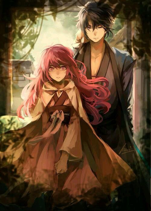 Imagem de akatsuki no yona, anime, and hak