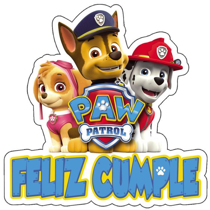 Paw Patrol Feliz Cumpleanos En 2021 Skye Patrulla Canina Cumpleanos Patrulla De La Pata Fiesta De La Patrulla Canina