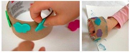 como hacer sellos de goma eva