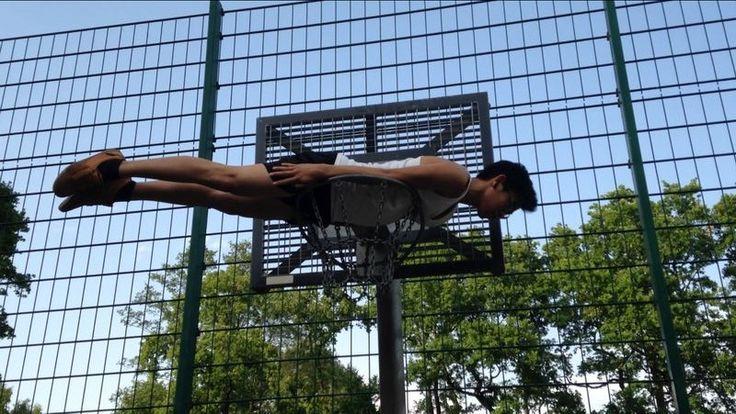 Me Planking in Avenwedde, Germany!