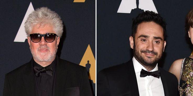 Pedro Almodóvar y Juan Antonio Bayona, con los mejores actores americanos en los Oscar Honoríficos