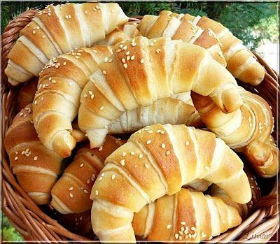 sós kifli Savory Hungarian butter horns