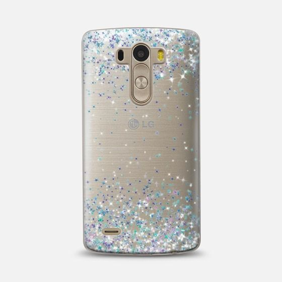 Frosty Sparkles Transparent LG G3 Case by Organic Saturation | Casetify. Get $10 off using code: 53ZPEA