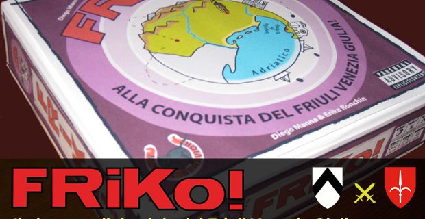 FRiKo! Parte il crowdfunding per il gioco di guerra tra Trieste e Udine