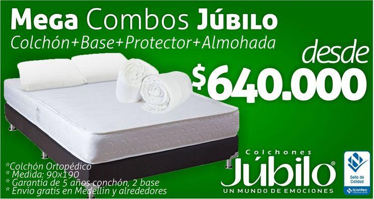 MEGA Combos Júbilo, Antes $1.262.000, Ahora $640.000. Con certificado Icontec. Tel 034 4444779 whatsapp 3024444779 http://goo.gl/P1KUHv