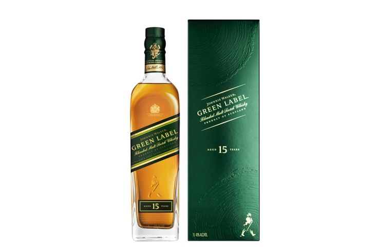 Spirit of the Month July '17 - Johnnie Walker Green Label 15 Year Old Blended Scotch Whisky