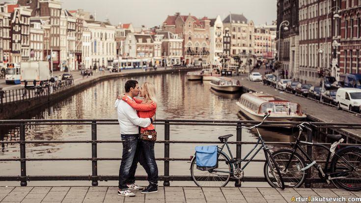 Romantic Amsterdam photo shooting