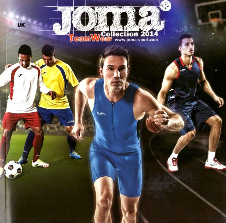 Get a free Joma teamwear catalogue from Football Nation.