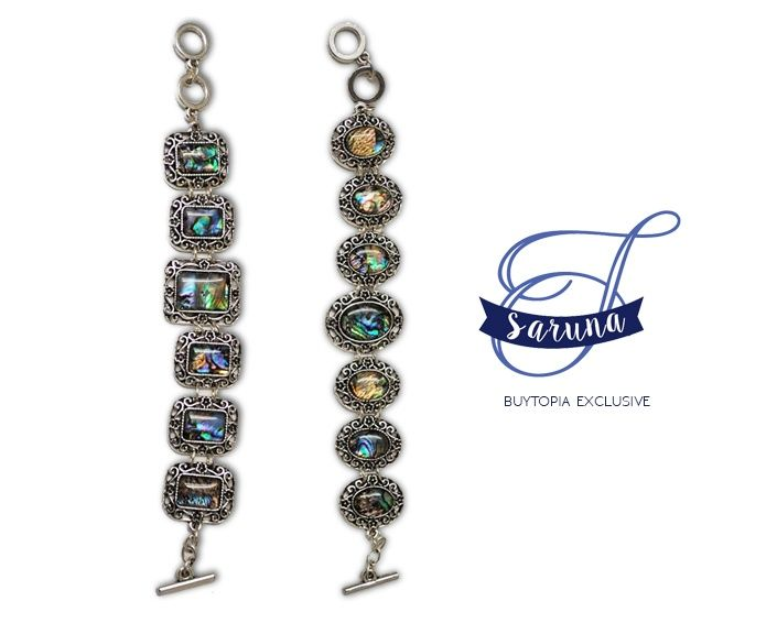 $15 for a Vintage Abalone Fashion Bracelet, Choose from 2 Styles!
