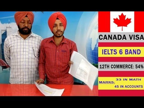 Canada Student Visa - With 33 marks in Math
