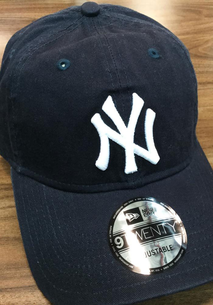 cb055077b6f4a New Era New York Yankees Mens Blue Core Classic 9TWENTY Adjustable ...