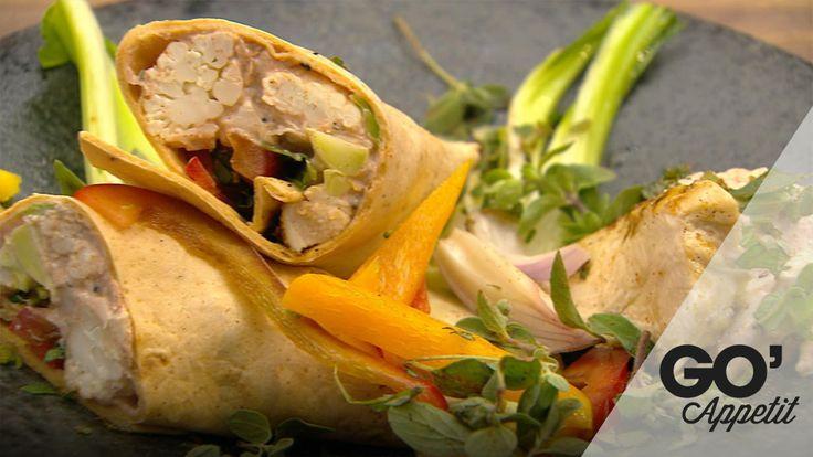 Mexi pandekager vol 2 med sprøde grøntsager og chili kød