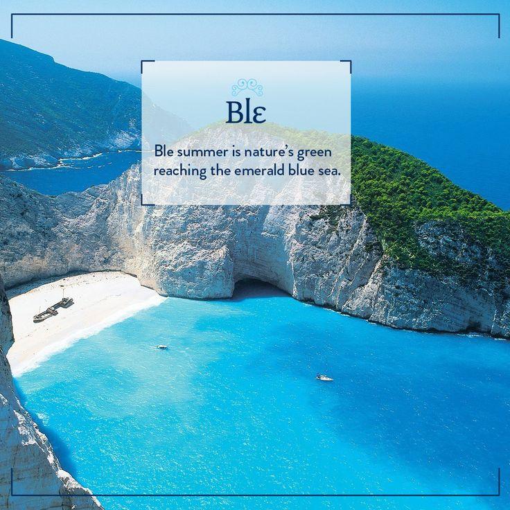 Isn't it gorgeous? #BleSummer #ILoveGreece #INeedSomeHolidays #GreekIslands #Nature #Sea #BlueSea #Aegean #Mediterranean