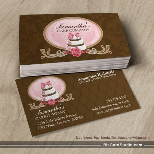 25 best ideas about bakery business cards on pinterest - Home decor business name ideas style ...