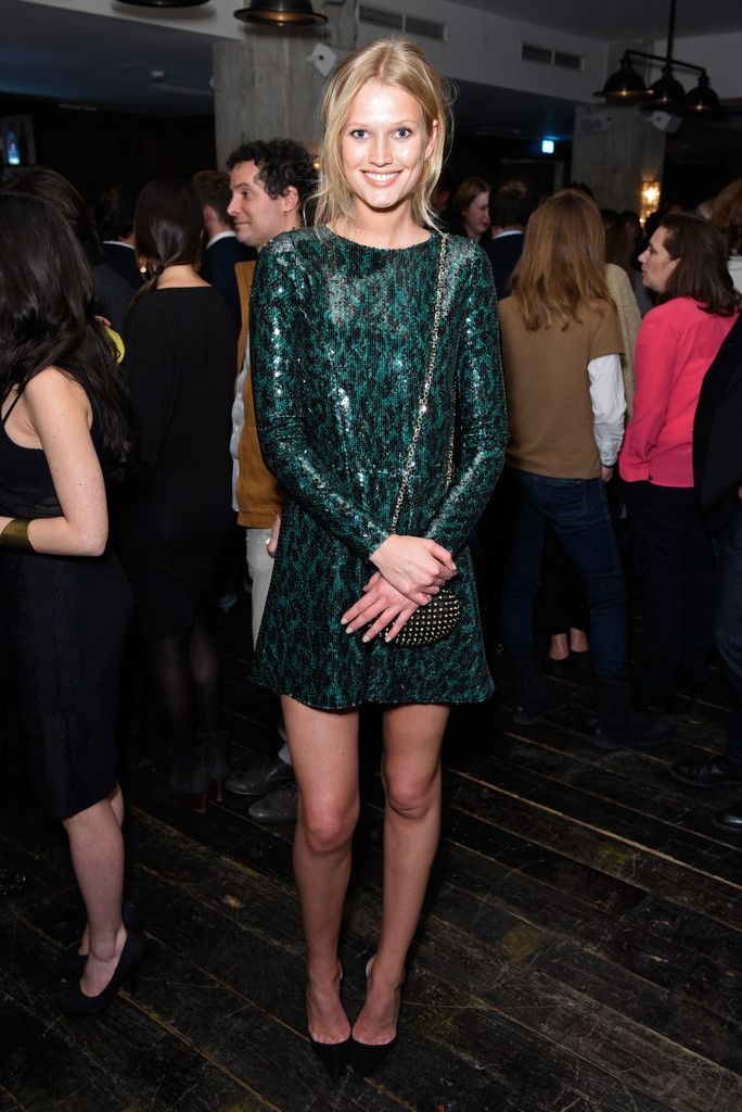 Toni Garrn in Marc Jacobs Resort 2015 - Studio Babelsberg & Soho House Berlinale Party with GREY GOOSE - February 6, 2015
