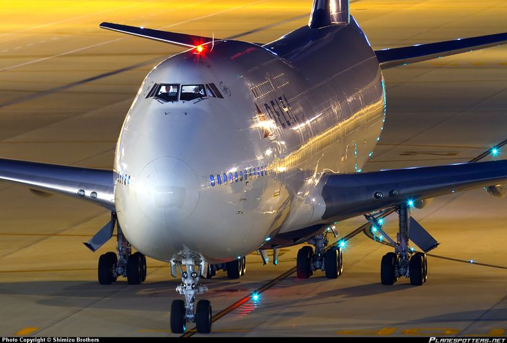 Night Flight - Delta Air Lines Boeing 747-451 N674US