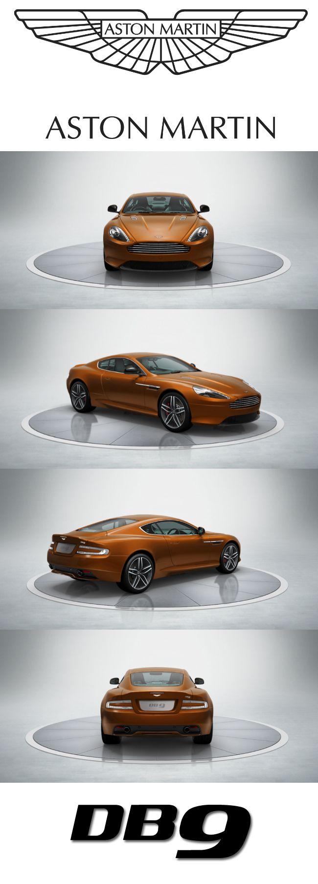 Aston Martin DB9. Design your dream Aston Martin with our configurator. http://www.astonmartin.com/configure #AstonMartin