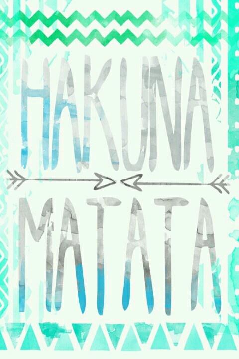 Hakuna Matata | Quotes & Sayings :) | Pinterest | Canvases ...