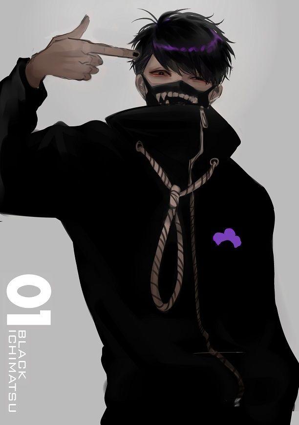 Osomatsu-san- Ichimatsu #Anime「♡」Dark